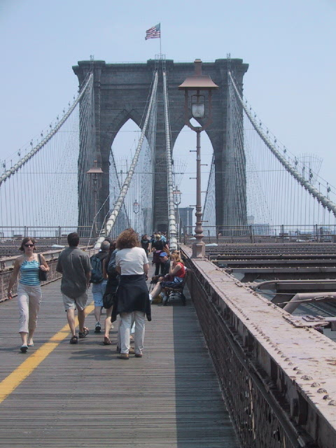 brooklyn bridge path