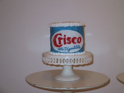 crisco cake